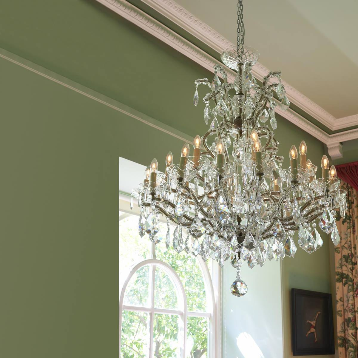 Marie therese chandelier 24 lights caleche interiors marie therese chandelier 24 lights mozeypictures Image collections