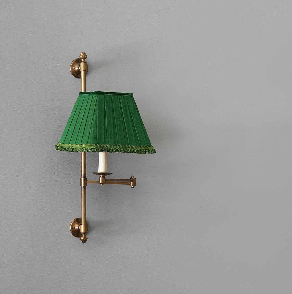 Library Swing Arm Wall Light – Caleche Interiors