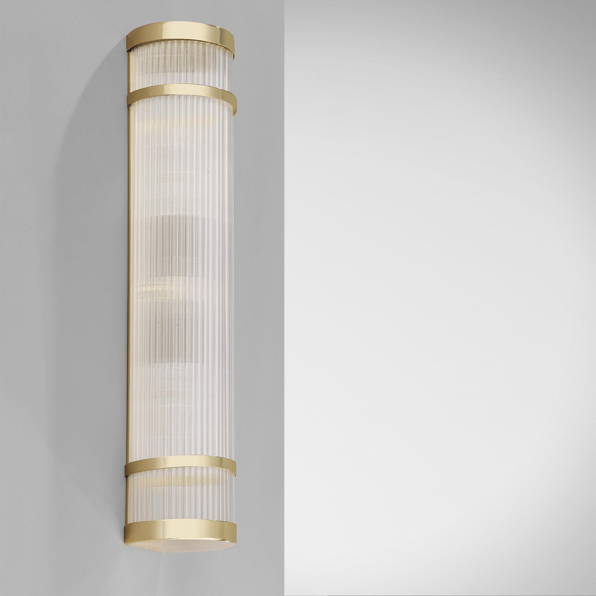 Ltw 32sl02b Art Deco Wall Light Slim